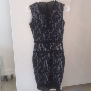 Just Cavalli Blue Lace Dress